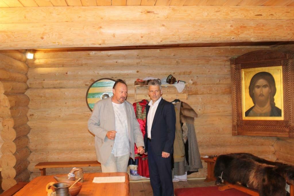 У нас в гостях глава Кирилловского района С.В.Усов