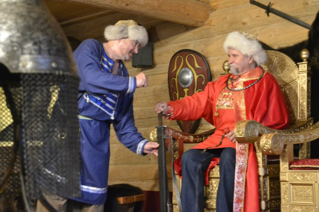 Князь и ведущий